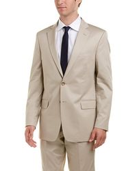 Brooks Brothers - Regent Fit Suit With Flat Front Pant - Lyst
