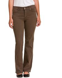 """NYDJ - Not Your Daughter's Jeans Petite """"sarah"""" Earth Green Bootcut - Lyst"""