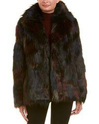 RACHEL Rachel Roy - Fuzzy Coat - Lyst
