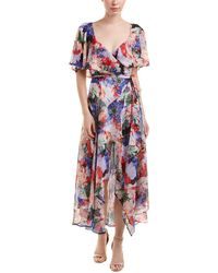 Catherine Malandrino - Wrap Dress - Lyst