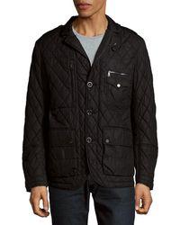 Ralph Lauren - Quilted Buttoned Jacket - Lyst