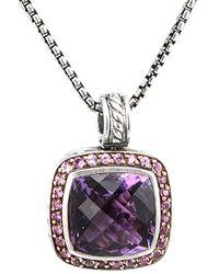 David Yurman - David Yurman Albion Silver 13.31 Ct. Tw. Gemstone Necklace - Lyst