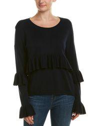Cinq À Sept - Phillipa Silk & Cashmere-blend Sweater - Lyst