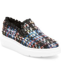 F-Troupe - Ruffled Slip-on Sneaker - Lyst