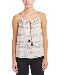 Gypsy 05 - Embroidered Tank - Lyst