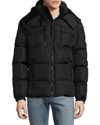 Sam. - Hooded Quilted Puffer Jacket - Lyst