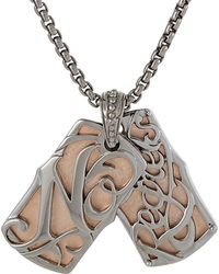 Stephen Webster - Men's Silver & Rhodium Necklace - Lyst
