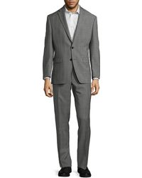 Ralph Lauren - Ultraflex Slim-fit Windowpane Wool Suit - Lyst