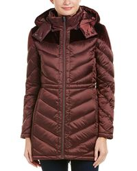 Belle By Badgley Mischka - Belle By Badgley Mischka Melrose Packable Down Coat - Lyst