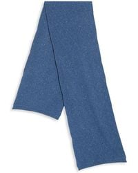 Saks Fifth Avenue - Diamond Stitch Speckled Cashmere Scarf - Lyst