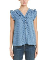 Skies Are Blue - Ruffle Top - Lyst