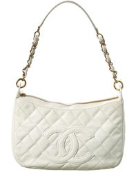 d0269343ca2a Lyst - Chanel Pink Quilted Caviar Leather Timeless Cc Shoulder Bag