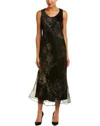 Lafayette 148 New York Palmer Silk Maxi Dress