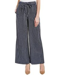 Laundry by Shelli Segal - Linen-blend Pant - Lyst