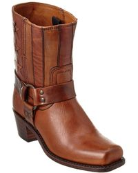 Frye - Women's Harness Leather Boot - Lyst