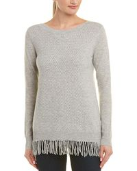 In Cashmere - Boat Neck Cashmere Top - Lyst
