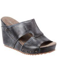 Antelope - 757 Leather Wedge Sandal - Lyst