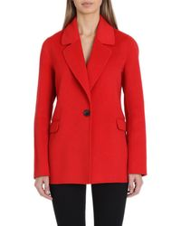 Badgley Mischka - Bailey Wool-blend Blazer - Lyst