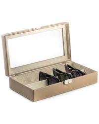 Bey-berk - Glass Top Eyeglass Case - Lyst
