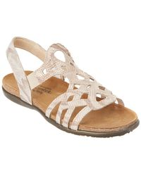 Naot - Rebecca Leather Sandal - Lyst