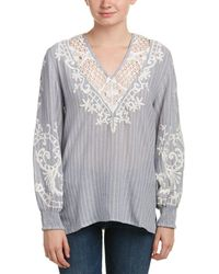 Love Sam - Embroidered Top - Lyst