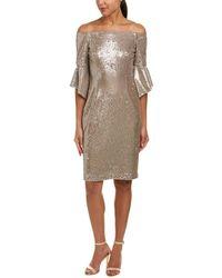 Tahari - Tahari Asl Cocktail Dress - Lyst