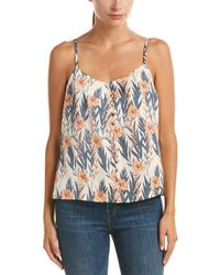 Kensie - Buttondown Camisole - Lyst