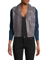 M.i.h Jeans - Leather Biker Jacket - Lyst