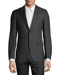 Lanvin - Two-piece Wool Micro Tile Suit - Lyst