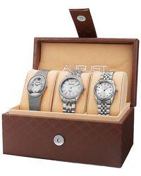 August Steiner - Set Of Three Watches - Lyst