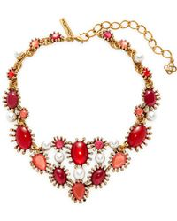 Oscar de la Renta - Star Necklace - Lyst
