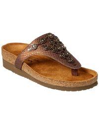 Naot - Juneau Leather Sandal - Lyst