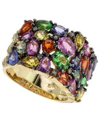 Effy - Fine Jewelry 14k 7.10 Ct. Tw. Diamond & Gemstone Ring - Lyst