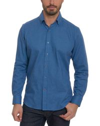 Robert Graham - Colin Tailored Fit Woven Shirt - Lyst