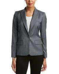 Lafayette 148 New York - Susan Modern Fit Wool-blend Jacket - Lyst