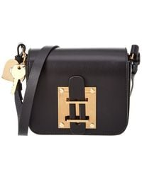 Sophie Hulme - Darwin Mini Leather Crossbody - Lyst