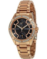 Citizen - Bulova Pov Eco-drive Crystal Watch - Lyst