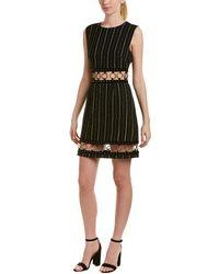 Isla - Far Out Linen-blend Shift Dress - Lyst