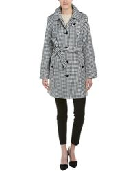 London Fog - Belted Rain Trench Coat - Lyst