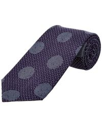 Cole Haan - Navy Dock Dot Silk-blend Tie - Lyst