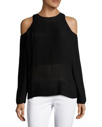 SemSem - Maryam Cold-shoulder Top - Lyst