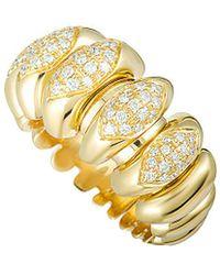 BVLGARI - Bulgari 18k Diamond Ring - Lyst