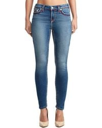 True Religion - Halle Super Skinny Pant - Lyst