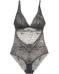 Samantha Chang - Glamour Lace Bodysuit - Lyst