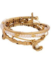 ALEX AND ANI - Set Of 4 Seaside Wire Bangle Bracelet - Lyst