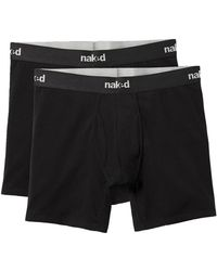 Naked - Pack Of 2 Boxer Briefs - Lyst
