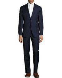 Saks Fifth Avenue - Trim Fit Wool Sport Coat - Lyst