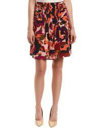 Trina Turk - Diamond Silk Mini Skirt - Lyst