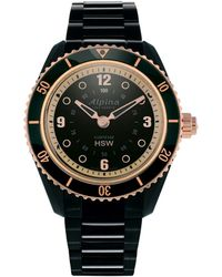 Alpina - Stainless Steel Watch - Lyst