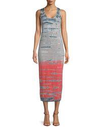 Young Fabulous & Broke - Isabel Tie-dye Midi Dress - Lyst